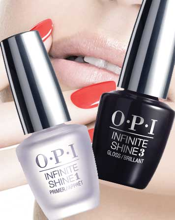 Infinite Shine Base en Top Coats